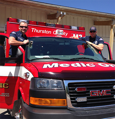 Our firefighters are cross-trained as Emergency Medical Technicians (EMTs).